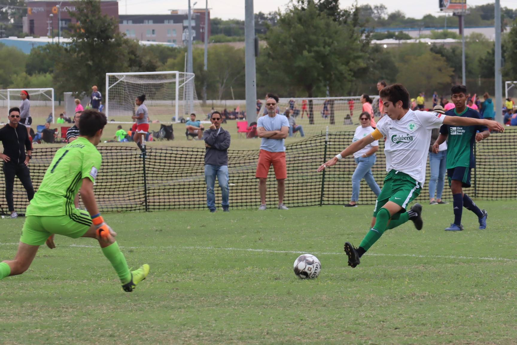 SF Glens Under-17 captain Diego Grande scored in all three USL Academy games. (Courtesy / Cameron Koubek)