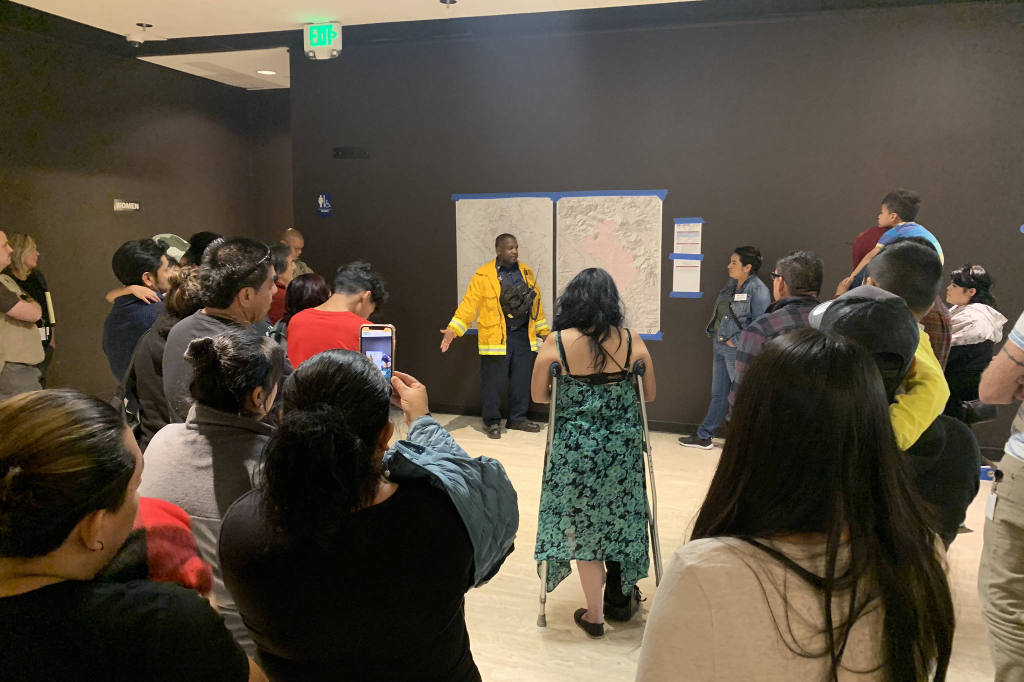 Kincade Fire evacuees finding shelter in The City