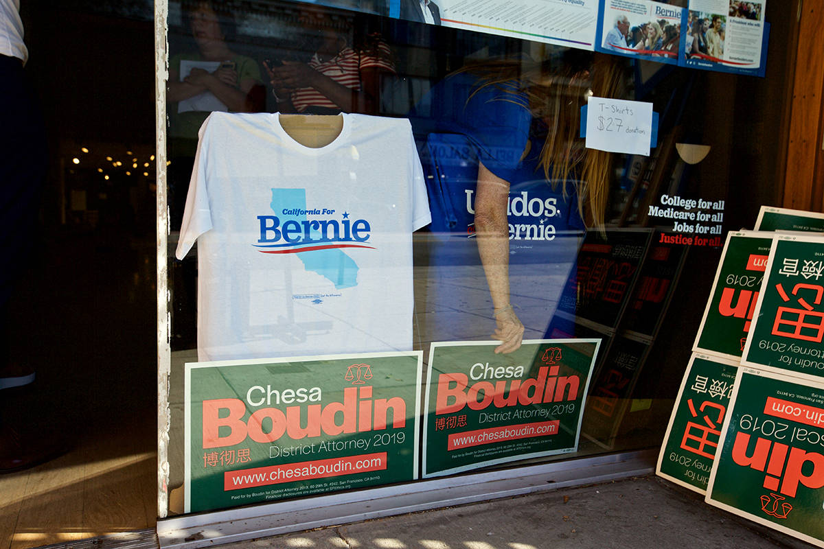 Boudin campaign for DA to get boost from Bernie Sanders
