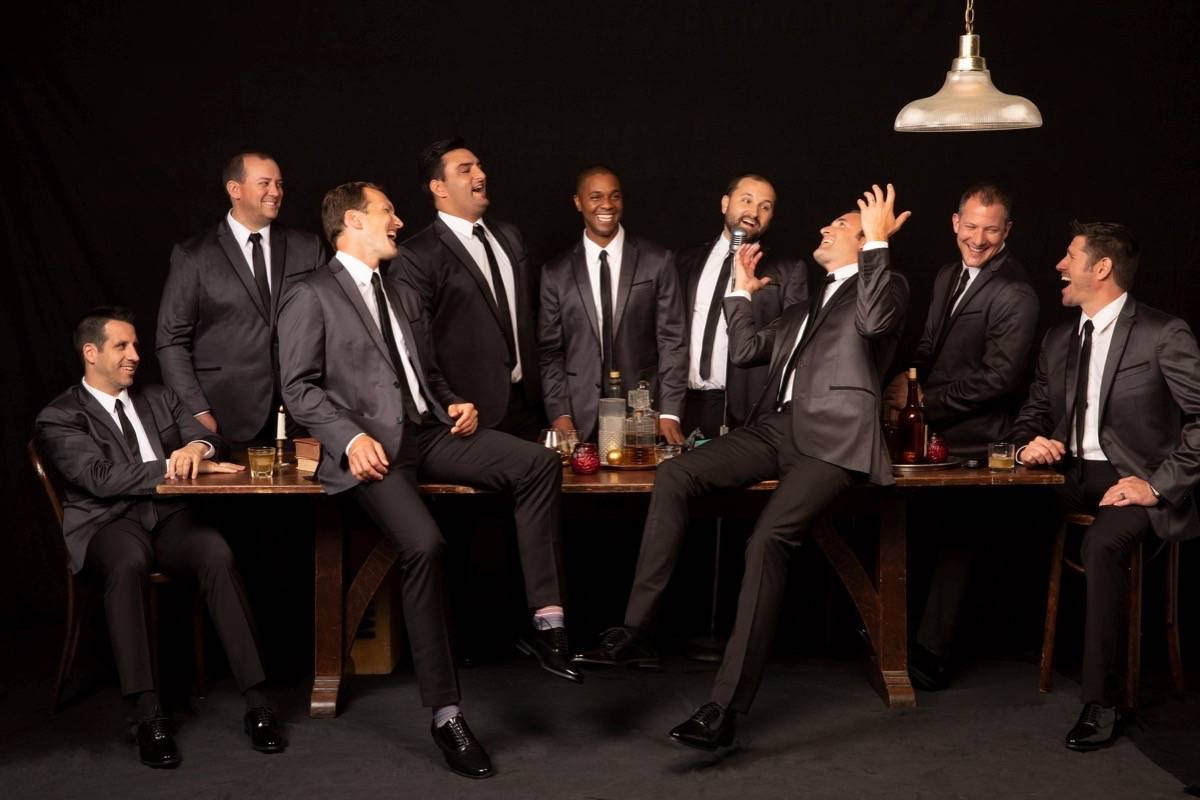 Indiana-bred a cappella group Straight No Chaser brings its holiday concert to Davies Symphony Hall on Sunday. (Courtesy photo)