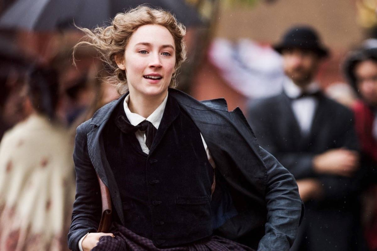 "Saoirse Ronan is excellent as Louisa May Alcott's beloved Jo March in Greta Gerwig's new version of ""Little Women."" (Courtesy Wilson Webb/Columbia Pictures)"