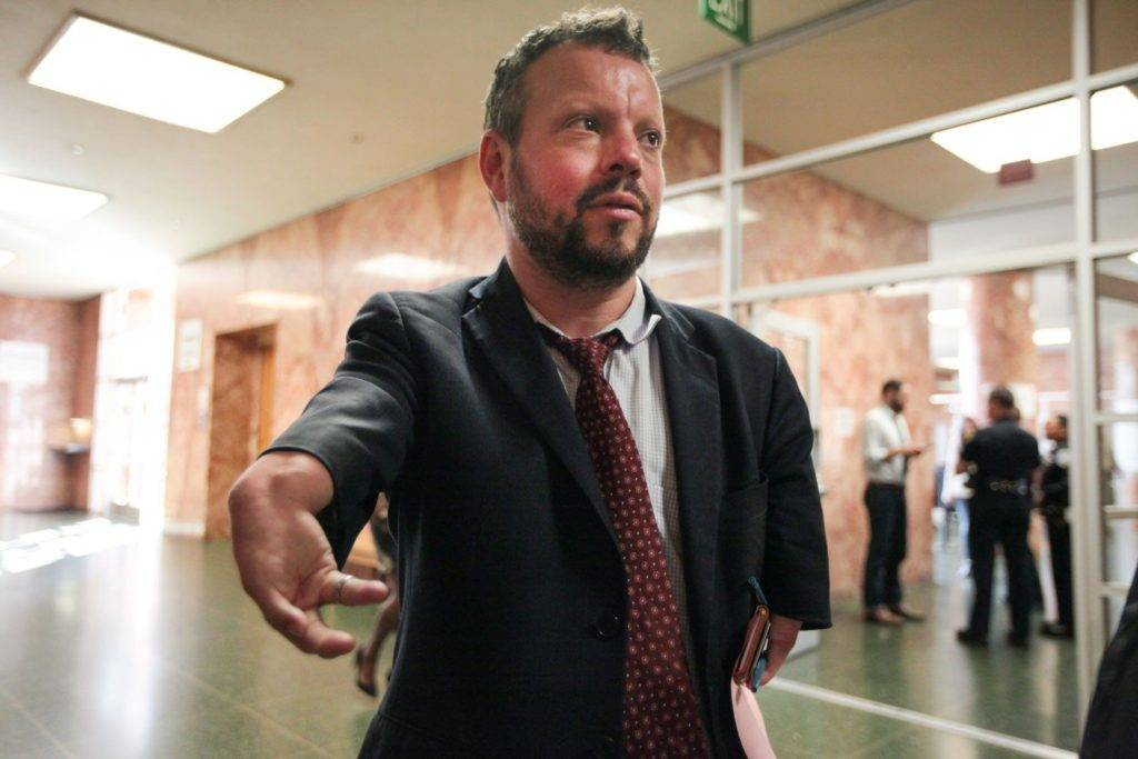 Tal Klement, a veteran of the San Francisco Public Defender's Office, was among four new hires made by new District Attorney Chesa Boudin in his first days in office. (Gabrielle Lurie/Special to the S.F. Examiner)