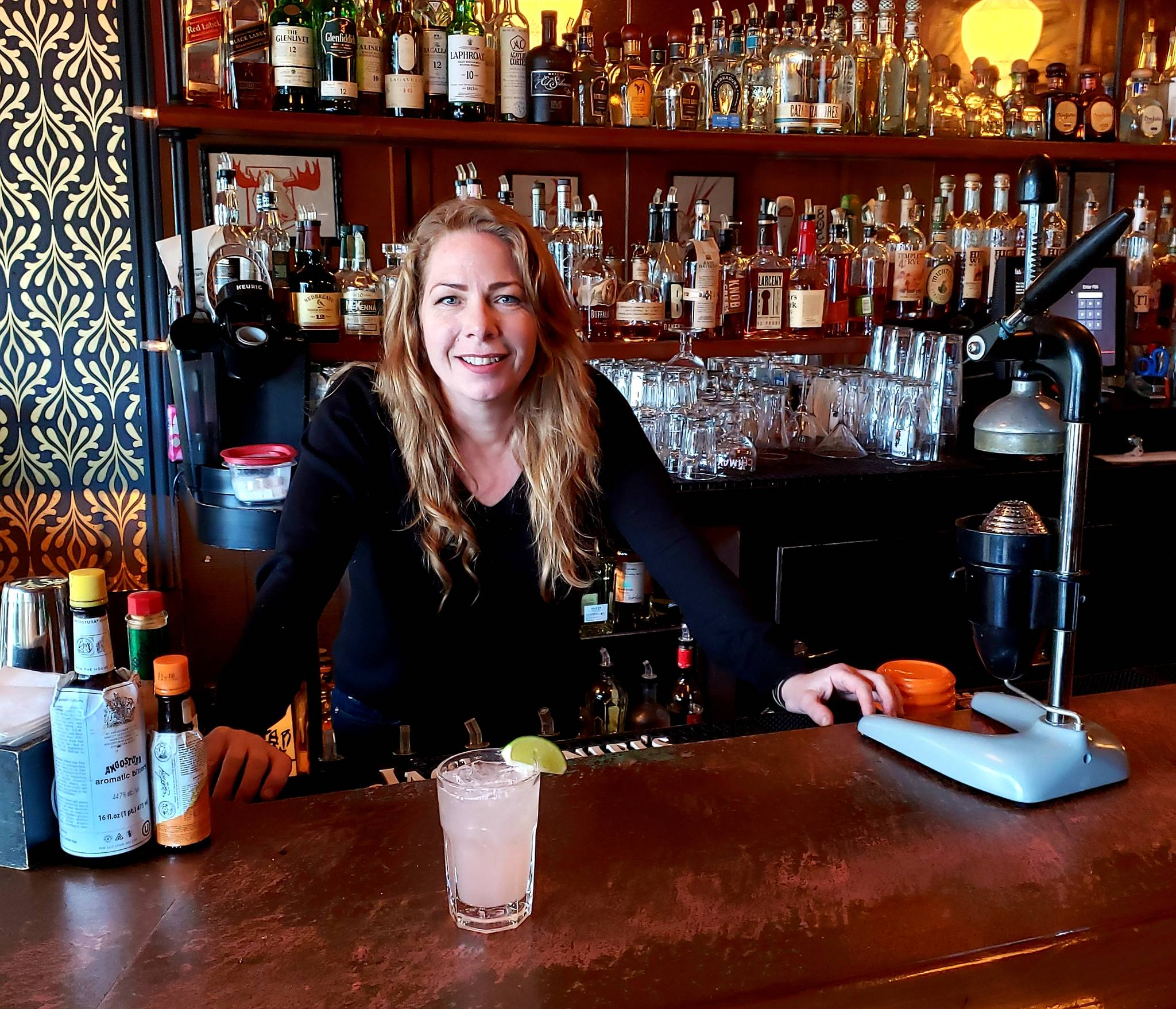 Fireside Bar owner Lisa Merrall said the key to success is remembering that customers aren't just there to drink.