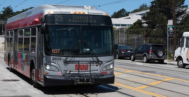 Alterations to bus service in the Sunset could increase school diversity.                                 Courtesy SFMTA
