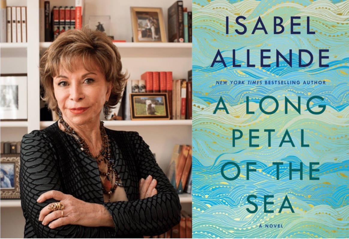 Isabel Allende speaks about her latest historical novel on Feb. 3 in San Rafael. (Courtesy Lori Barra)