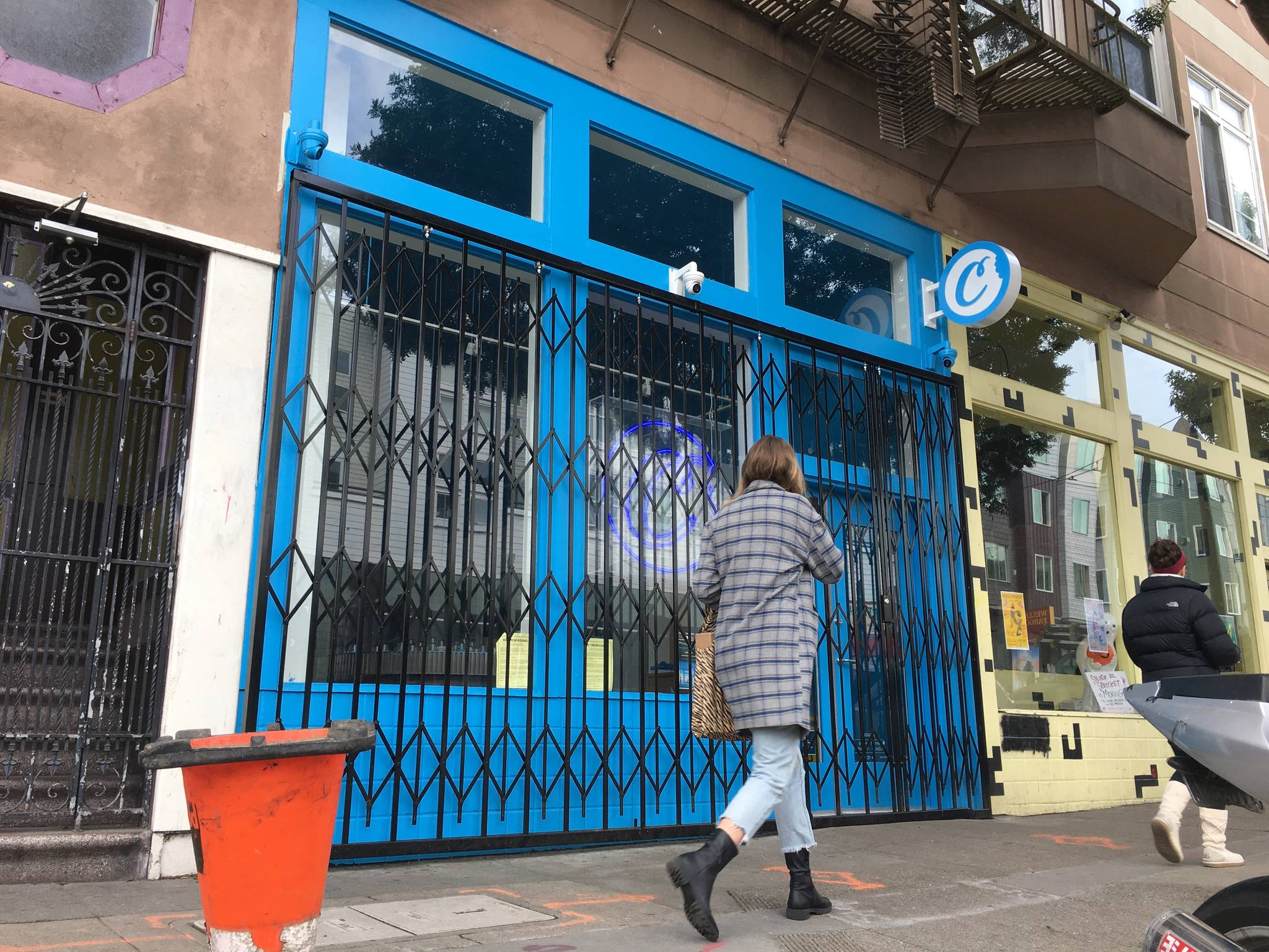 Many dispensaries around San Francisco were closed on Tuesday after initial shelter-in-place orders from The City that shut down most retailers. (Corey Browning/Special to the S.F. Examiner)
