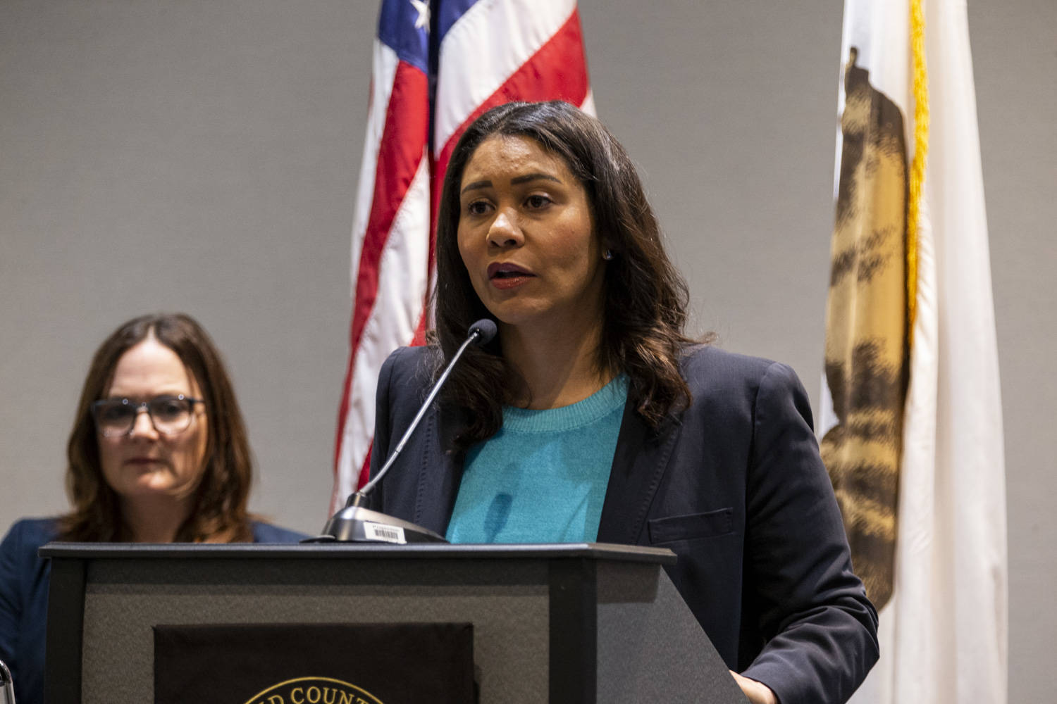San Francisco Mayor London Breed is asking city department heads to submit proposed budget cuts by June 12. (Chris Victorio|Special to S.F. Examiner)