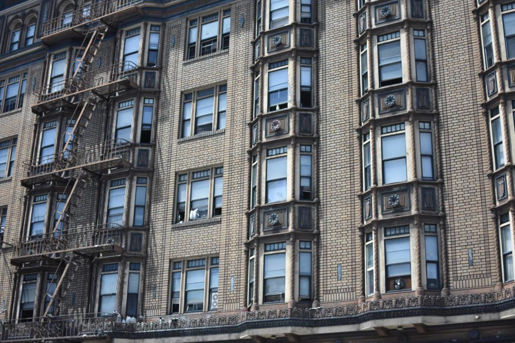 The Hartland Hotel is one of many SROs around The City that provide permanent supportive housing. (Lola Chase/ S.F. Examiner)