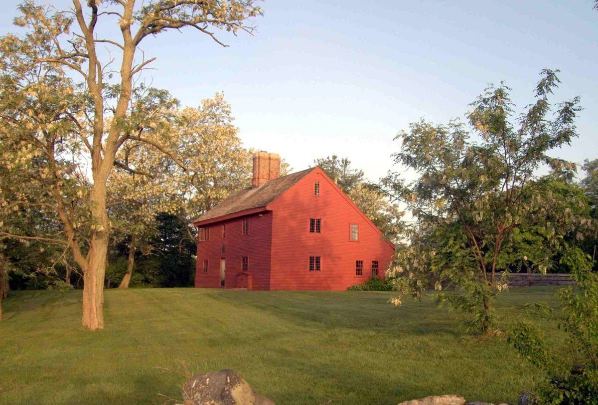 The Rebecca Nurse Homestead in Massachusetts, the 10 a.m. (Eastern Standard Time) Aug. 1 stop on America's Summer Road Trip, tells the story of a woman who was executed during the Salem Witch Trials. (Courtesy Henry S. Rutkowski)