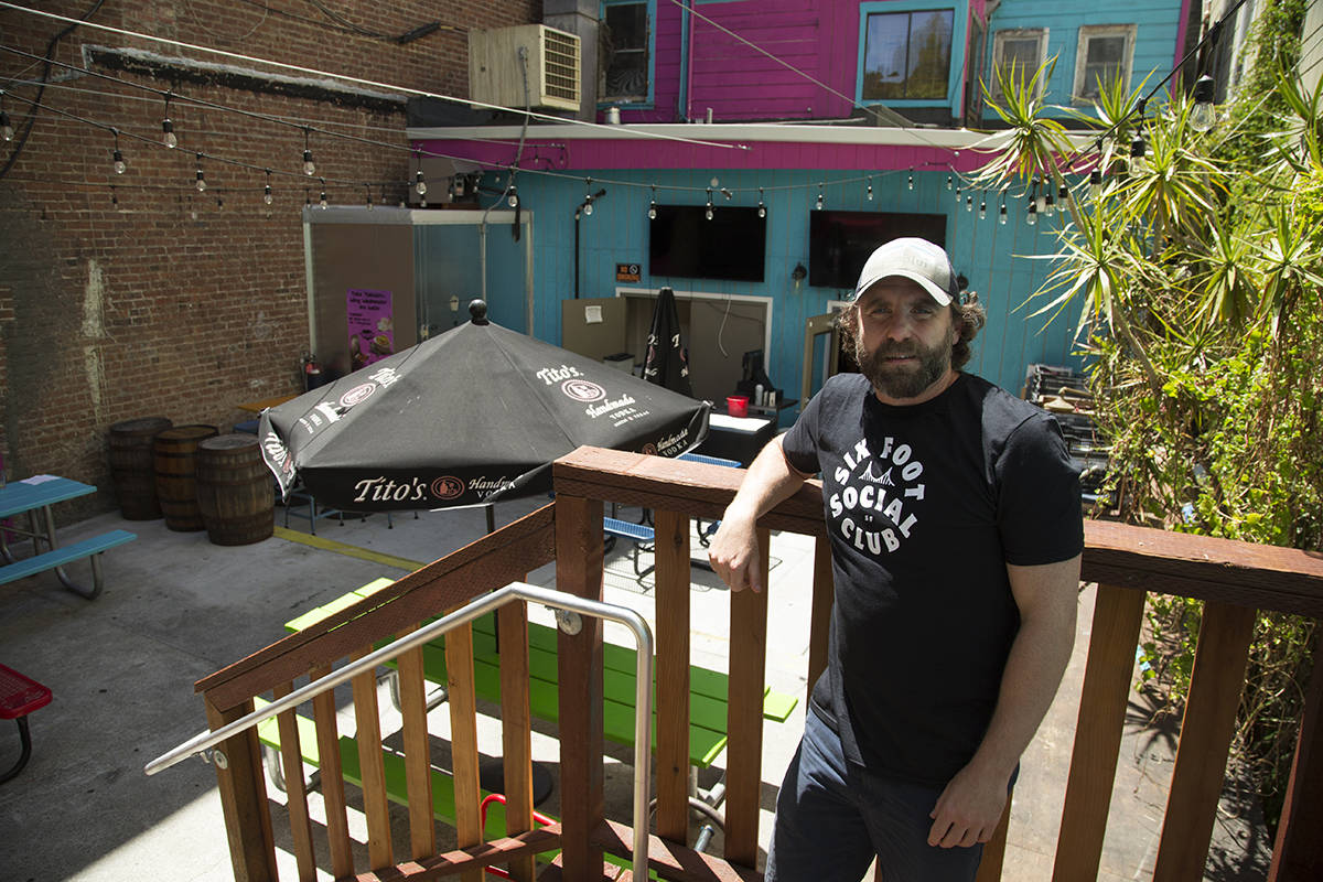 Ben Bleiman, president of the San Francisco Entertainment Commission and one of the owners of Dr. Teeth in the Mission, says The City should consider allowing venues to move some events and concerts outdoors. (Kevin N. Hume/S.F. Examiner)