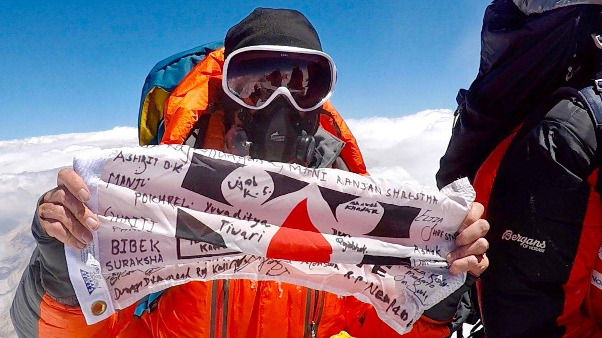 "Chris Bombardier's quest to be the first hemophiliac to climb Mount Everest is the subject of the heartwarming ""Bombardier Blood."" (Courtesy photo)"