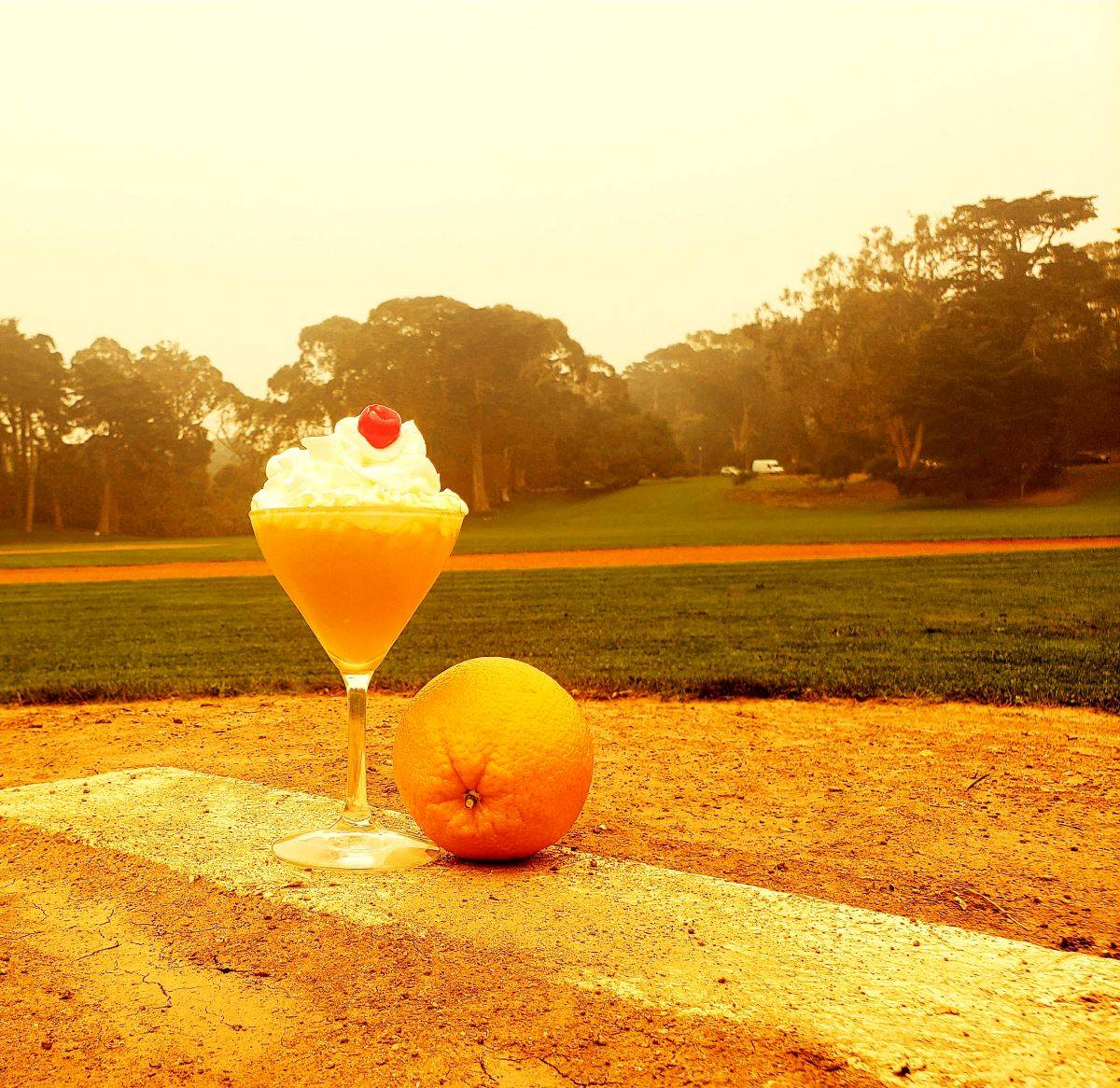The Sunset Creamsicle is reminiscent of a childhood favorite. (Saul Sugarman/Special to S.F. Examiner)