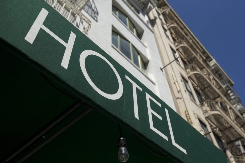 Some hotels may choose to stay closed until tourist demand rises high enough to sustain the cost of operations. (Kevin N. Hume/S.F. Examiner)