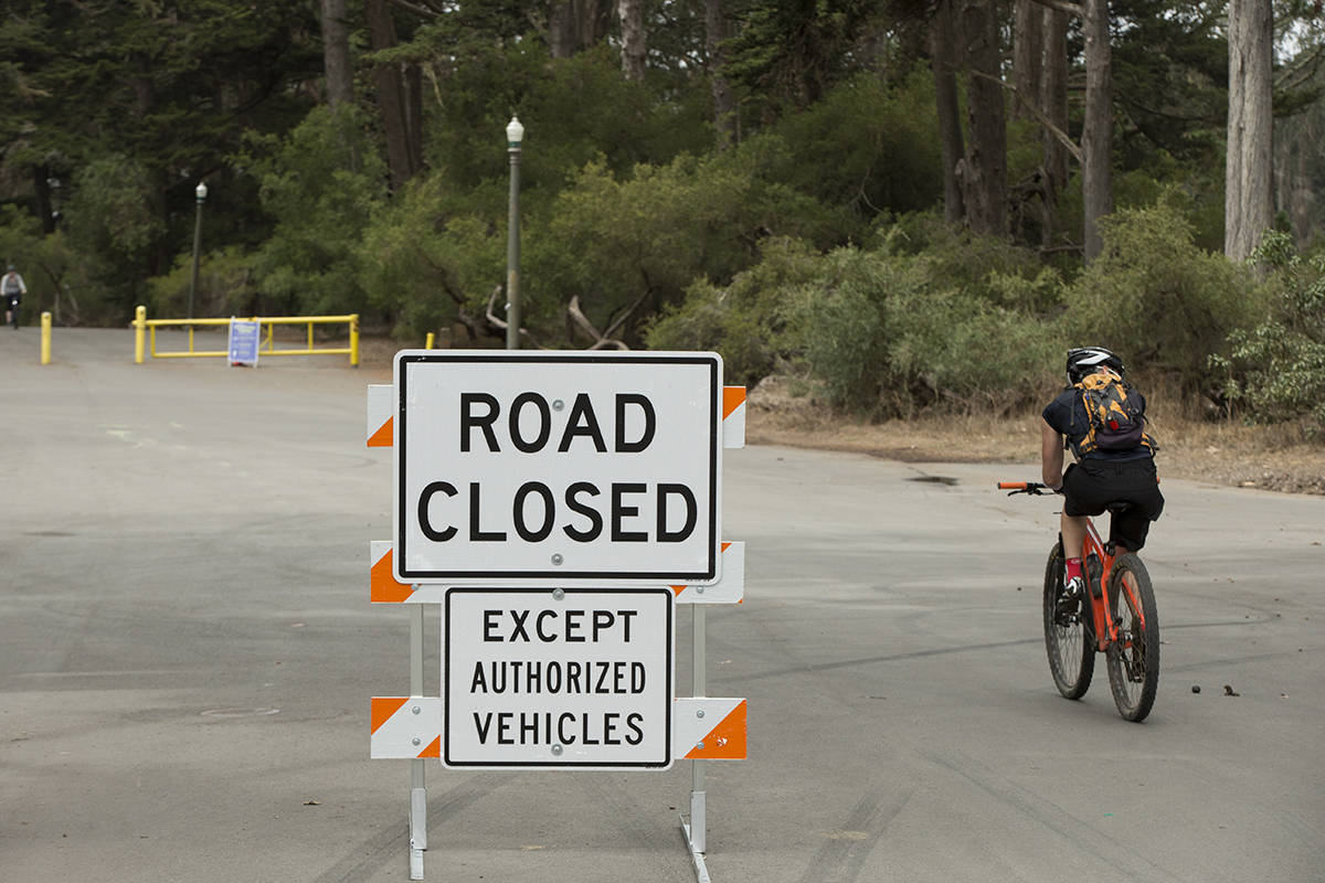 From the Panhandle to Ocean Beach on car-free roads