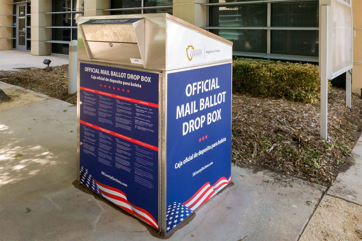 There are ways to determine the authenticity of California ballot boxes that are being used in the November 2020 election. (Courtesy photo)
