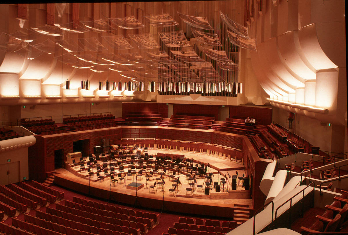 Davies Symphony Hall will remain unused for the remainder of the 2020-21 season. (Courtesy Craig Mole)