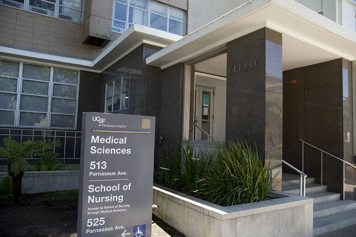 The UCSF Parnassus campus will see improvements including a new hospital. (Kevin N. Hume/S.F. Examiner)