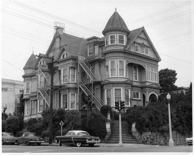 A striking Queen Anne house on the corner of Fell and Steiner streets is the home of Ohloff Recovery Programs. (Courtesy photo)