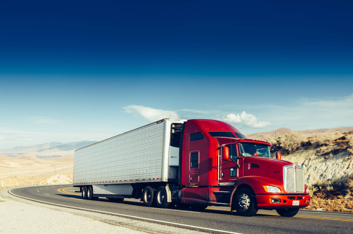 Trucking companies and truck drivers must comply with extensive U.S. Department of Transportation laws pertaining to safety. (Shutterstock)