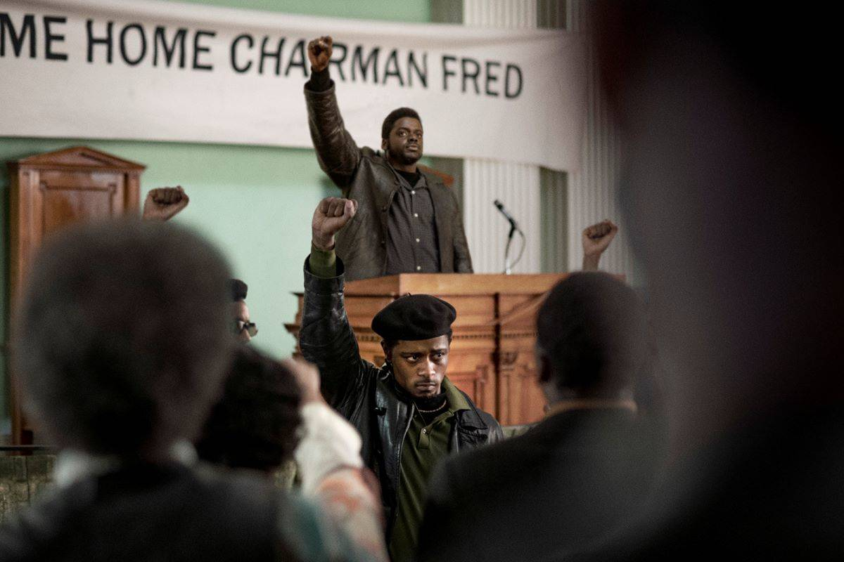 "LaKeith Stanfield, foreground, and Daniel Kaluuya are excellent in ""Judas and the Black Messiah."" <ins>(Glen Wilson/Warner Bros. Pictures/TNS)</ins>"