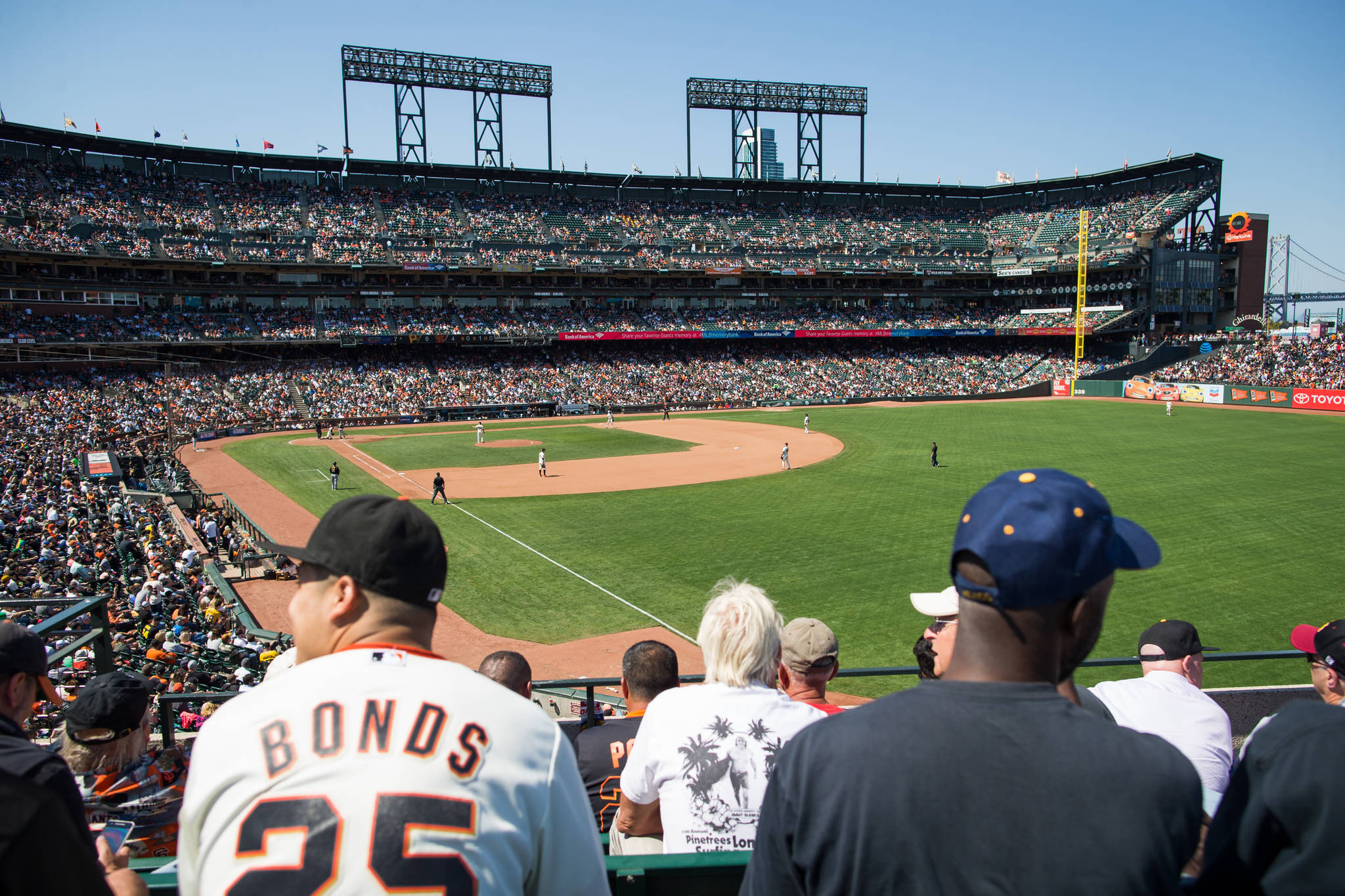 Fans will be allowed to attend Opening Day games for the San Francisco Giants and Oakland Athletics under new rules announced by the California Deparment of Public Health. Stan Olszewski/ 2016 Special to S.F. Examiner