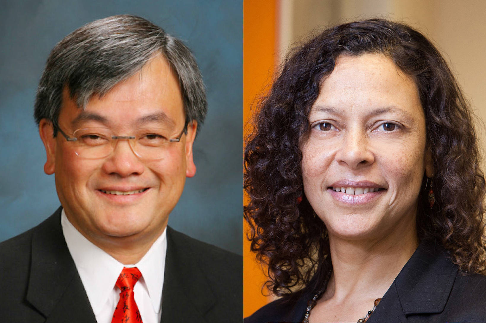 John Yen Wong of the Asian Real Estate Association of America and Maeve Elise Brown of Housing and Economic Rights Advocates are calling for the government to assist affordable housing providers. (Courtesy photo)