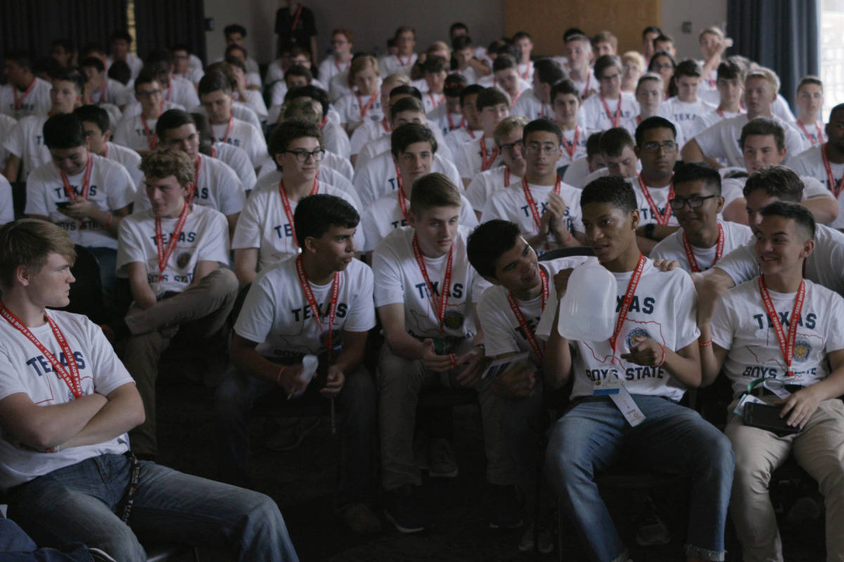 "Cinequest's closing Spotlight event includes a conversation with the Bay Area-based directors of ""Boys State,"" a documentary about teens tasked with creating a government under a program sponsored by the American Legion. (Courtesy A24)"