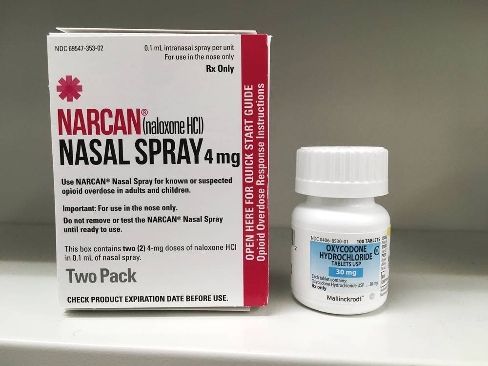 The City will allocate $1.6 million towards the fentanyl crisis, which would help fund Peer Overdose Prevention Specialists at SROs to provide naloxone and training to their neighbors, as well as monitor wall-mounted naloxone supplies. (Shutterstock)