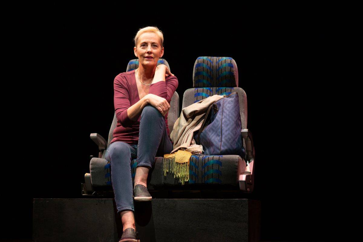 "Julia Brothers gives a touching performance in ""I Was Right Here."" (Courtesy San Francisco Playhouse)"