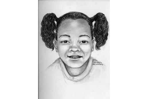 San Francisco police on Thursday released a sketch of what Arianna Fitts might look like as a 7-year-old. (Courtesy image)