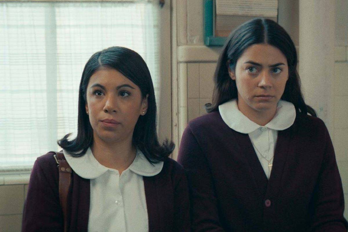 "Chrissie Fit, left, and Lorenza Izzo appear in the San Francisco-set ""Women is Losers."" (Courtesy Look at the Moon Pictures)"