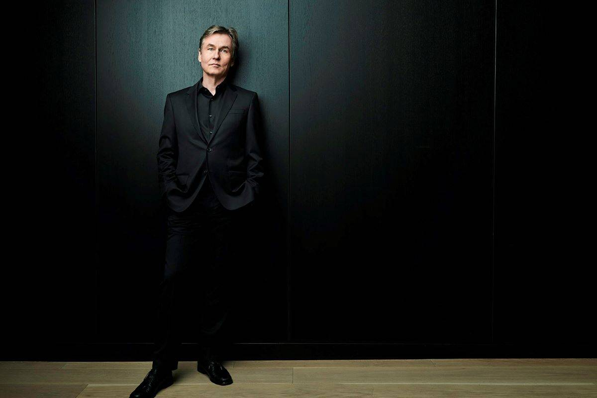 San Francisco Symphony Music Director Esa-Pekka Salonen is opening the orchestra's first live concert series in more than a year on May 6-7 at Davies Symphony Hall. (Courtesy Andrew Eccles/San Francisco Symphony)