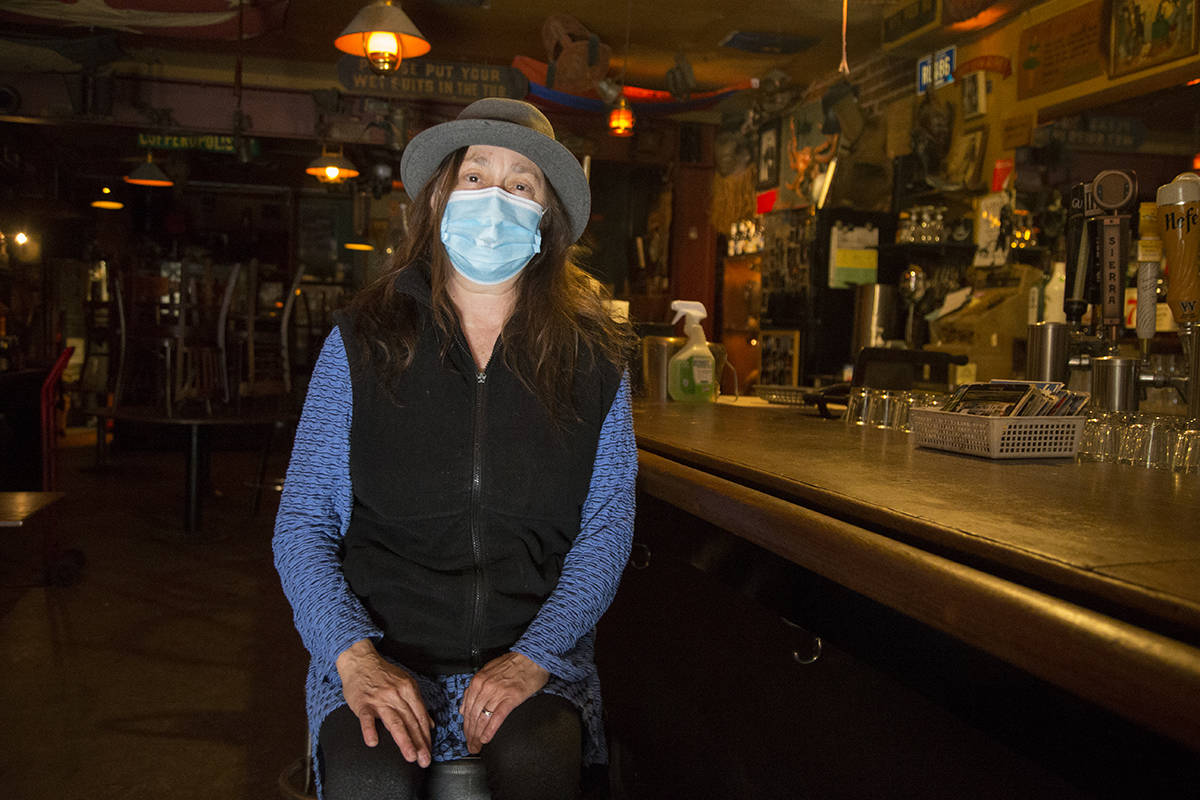 Beloved North Beach haunt Specs' will open soon, and it will be nice to see bartender Laura Bellizzi there. <ins>(Kevin N. Hume/S.F. Examiner)</ins>