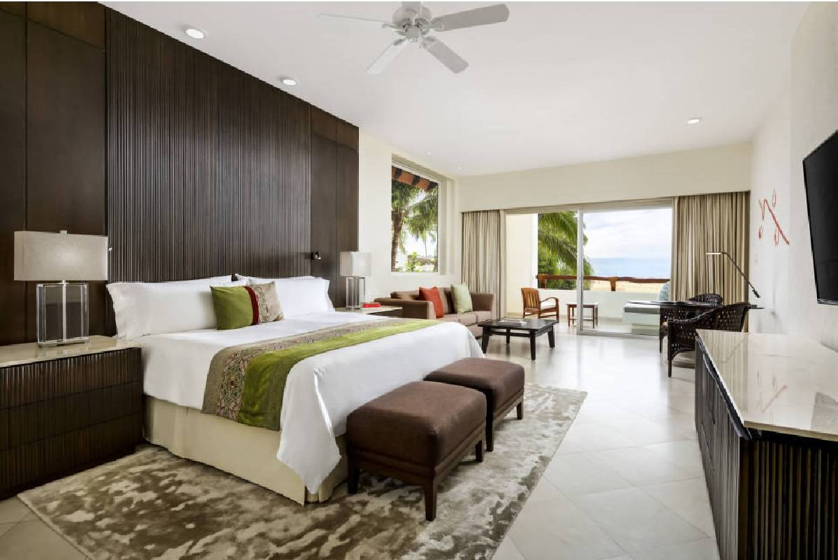 Velas Riviera Nayarit suites are large and well-appointed. (Courtesy photo)