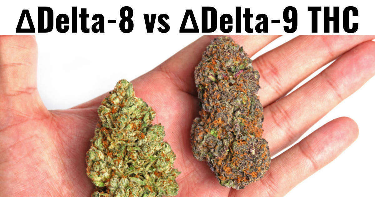What's the Difference Between Delta-8 and Delta-9 THC?
