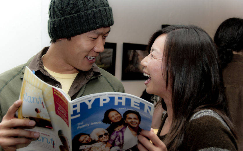 Hyphen hosts a group show at Space Gallery in San Francisco in 2010. (Photo courtesy of Albert Law/Pork Belly Studio)