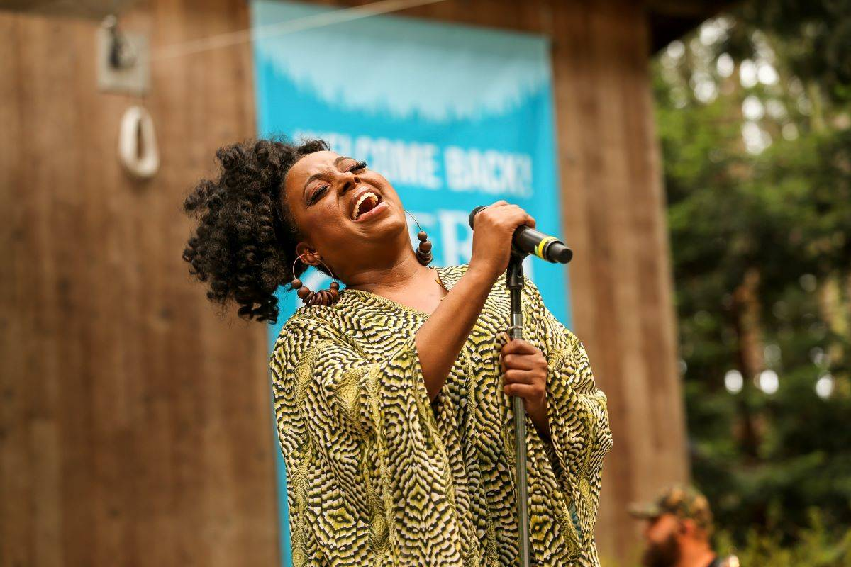 Bay Area soul and jazz great Ledisi headlined Stern Grove's opening 2021 show. (Christopher Victorio/Special to The Examiner)