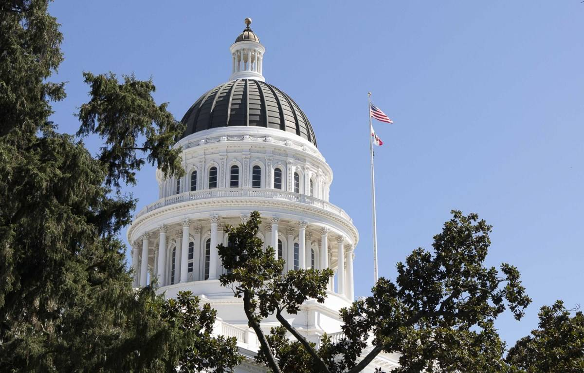 Blue California often is the target of criticism by conservative media, but now is receiving critical attention from liberal writers. Pictured: The State Capitol. (Photo by Anne Wernikoff for CalMatters)