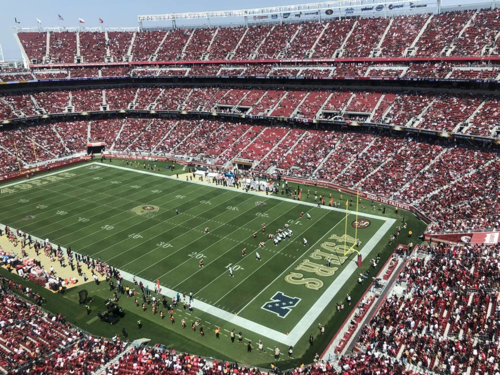 The 49ers looked solid in their last preseason game against the Raiders, prior to the start of the 2021 season. Just the same, the team faces a number of issues going forward. (Al Saracevic/SF Examiner)