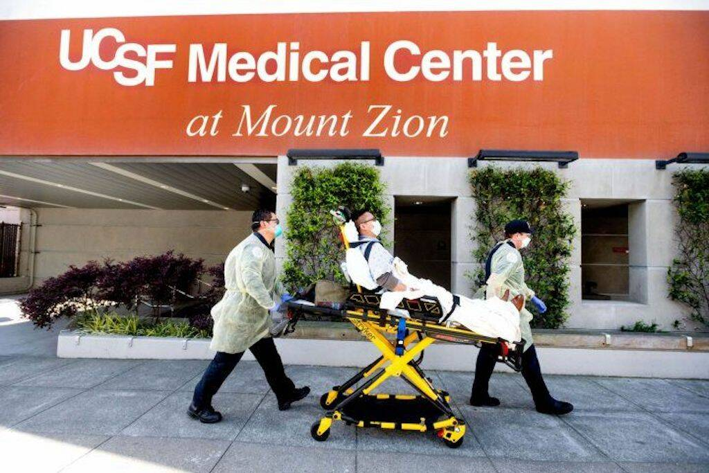 Hospital officials say UCSF is meeting patient care standards and working to recruit more nursing staff. (Courtesy Noah Berger/UCSF)