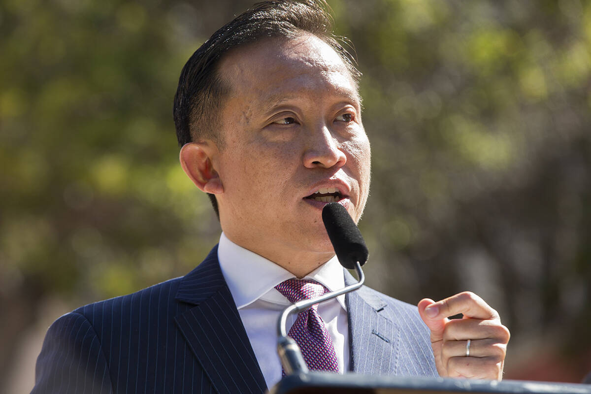 """Assemblymember David Chiu, who was appointed San Francisco City Attorney on Wednesday, says he has been """"focused on the fight for justice"""" his entire career. (Kevin N. Hume/The Examiner)"""