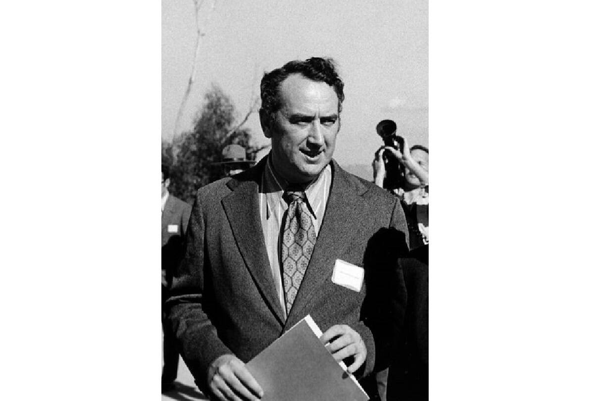 Phillip Burton, pictured in 1972, was a pivotal force in San Francisco politics for almost 40 years.<ins> (Wikimedia Commons)</ins>