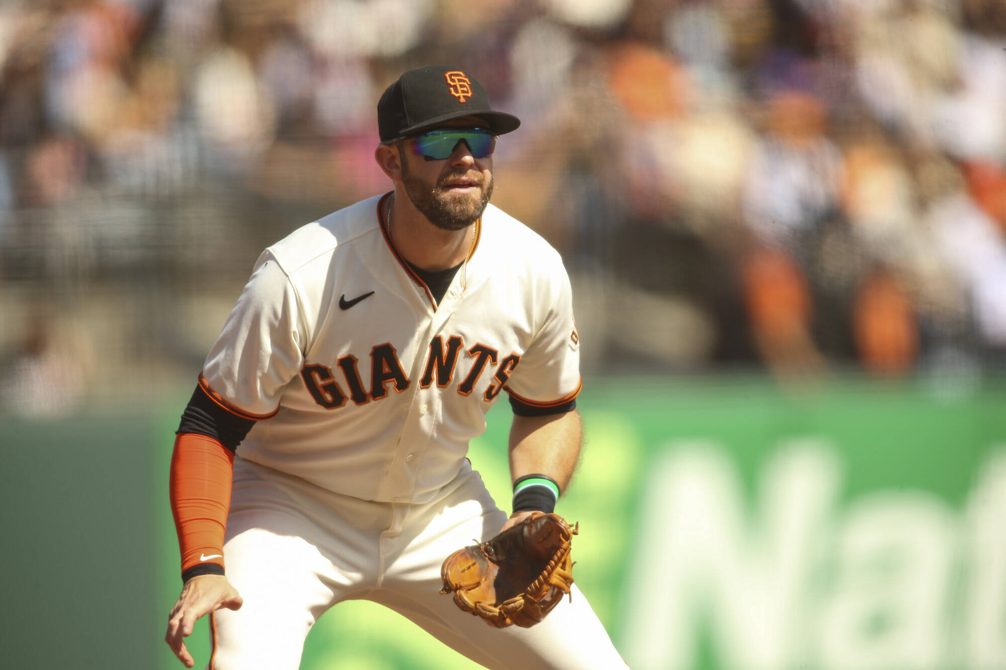San Francisco Giants third baseman Evan Longoria says he thinks the Division Series is too early to play the Dodgers, given they were the two best teams in the National League. (Chris Victorio/Special to The Examiner)
